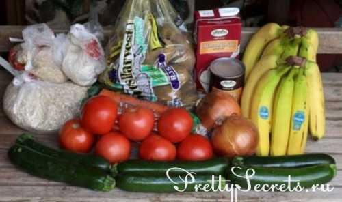 здоровое питание: еда и блюда вкусной и полезной пищи